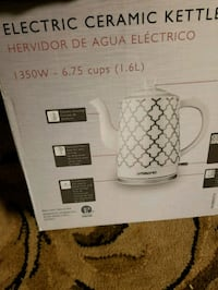 New electric ceramic kettle moving must go asap ex