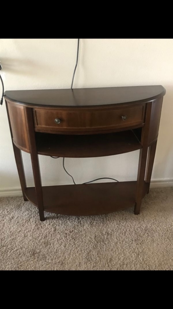 fabb0fa4c8afb2 Used Entry table  half wall table for sale in Fort Worth - letgo