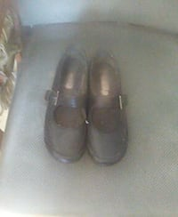 pair of black leather maryjane shoes Grass Valley, 95945