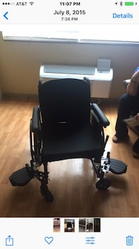 Black wheelchair Indianapolis, 46260