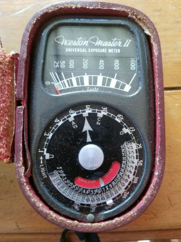 Old light meter