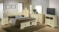 King storage bed only Yonkers, 10705