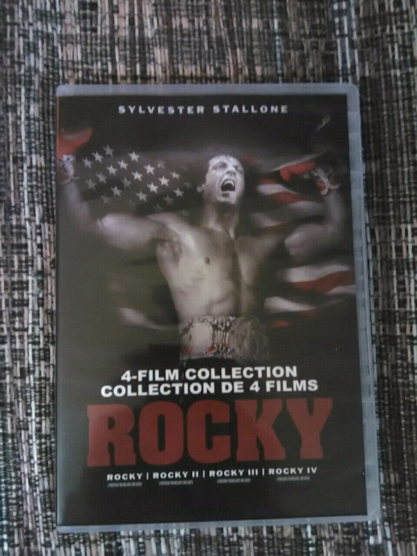 Rocky 1-4 film collection