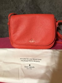 Coral brand new Kate spade cross body purse