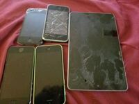 4-used parts iPhone's 1-Nexus tab  Vancouver, V5R 4V1