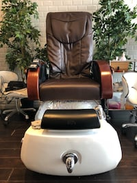 10/10 Cleo - 4 available - Pedicure massage service chair GLASS BOWL Vaughan, L4L 3Y5