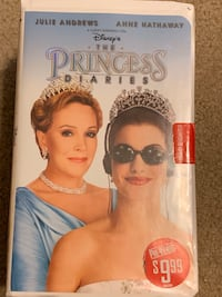 classic VHS tape The Princess Diaries