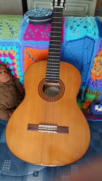 brown and black classical guitar Alexandria, 22314