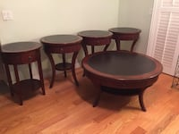 Coffee table & 4 end tables