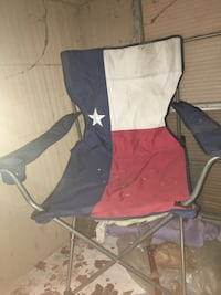 black and red camping chair Houston, 77079
