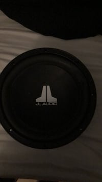 black and gray JL Audio subwoofer w3 10w 3x2v2 Sun City, 92585