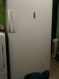 white single-door refrigerator Hyattsville, 20785