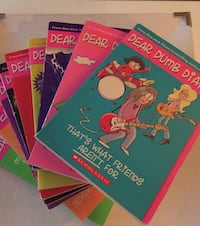 Dear dumb diary books series lot Cornwall, K6J 3T9