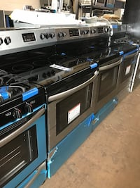 Electric stove stainless steel new Frigidaire 6 months warranty  Pikesville, 21208