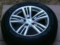gray 5-spoke car wheel with tire Las Vegas, 89156