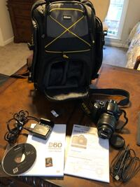 Nikon D60 digital SLR outfit-Excellent condition!