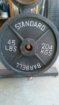 Plate weight for sale at .50 a pound. Kaufman, 75142