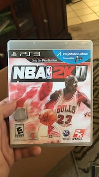 Sony PS3 NBA 2K16 game case