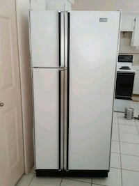 white side-by-side refrigerator Richmond, V7E 5L6