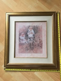 ‭Framed picture by H. Gallieri 23 1/2 x 25 1/2 - $40 Mississauga, L5L 5P5