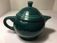 Retired Fiesta ware Juniper teapot with lid, excellent condition Lincoln, 68512
