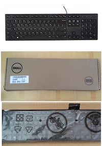 New in Box Dell Wired Keyboard Montréal, H4M 2K7
