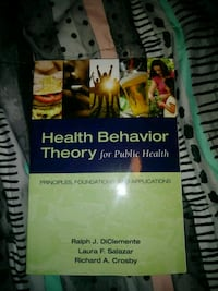 Health behavior theory for public health Triangle, 22172