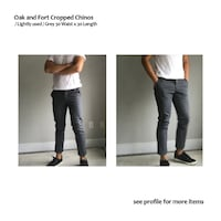 oak and fort Chinos  Toronto