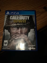 CALL OF DUTY WWII PS4 GAME CASE Woodbridge, 22193