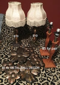 4DRAWER CHEST, LAMPS, VINTAGE CHANDELIER & END TABLES, WALL DECOR Jackson, 39209