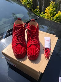 Red Suede Louis Vuitton  Hyattsville, 20785