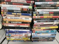 assorted DVD movie case lot Houston, 77014