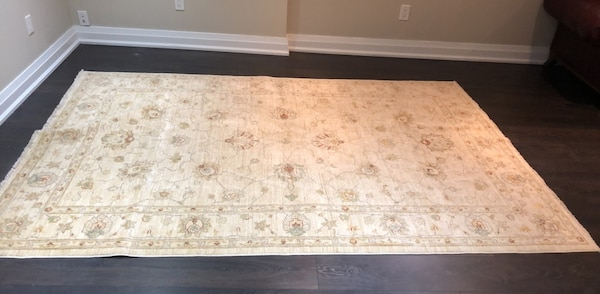 2 matching 8 by 10 authentic persian rugs