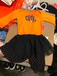 Babygirl Halloween Outfit-12months Rockville, 20853