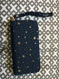blue and gold-colored star wristlet wallet Saskatoon, S7M 3A1