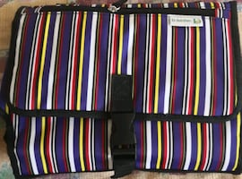 new baby clutch bag, changing pad and stroller org
