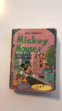 Mickey Mouse big little book(1975) Hanover, 17331