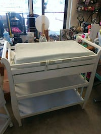 White changing table with pad Lake Forest, 92630