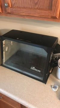 black Showtime toaster oven