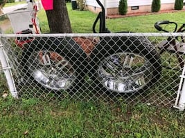 """23"""" Rims and tire set"""