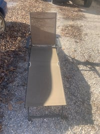 Foldable, adjustable lawn chair