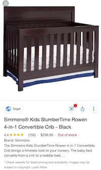 Simons baby crib  Wake Forest, 27587