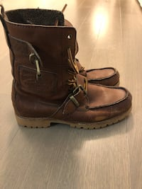 Ralph Lauren Polo Hi-Top Boots Cambridge