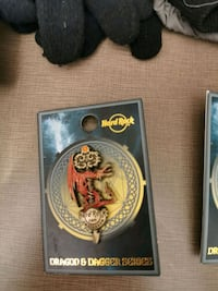 Hard Rock cafe pins limited edition