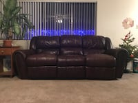 Ethan Allen Leather Couch  2270 mi