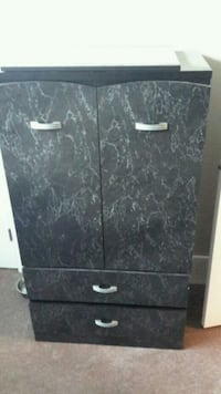 black and white wooden cabinet Calgary, T3N 1B9