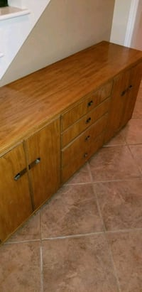 brown wooden 3-drawer chest Mission Viejo, 92691
