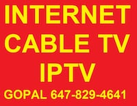 IPTV INTERNET DEALS , UNLIMITED INTERNET IPTV CABLE TV ALL CHANNELS INTERNET DEAL, BUZZ TV MAG 322w1 TV CABLE Brampton, L7A 0Z8