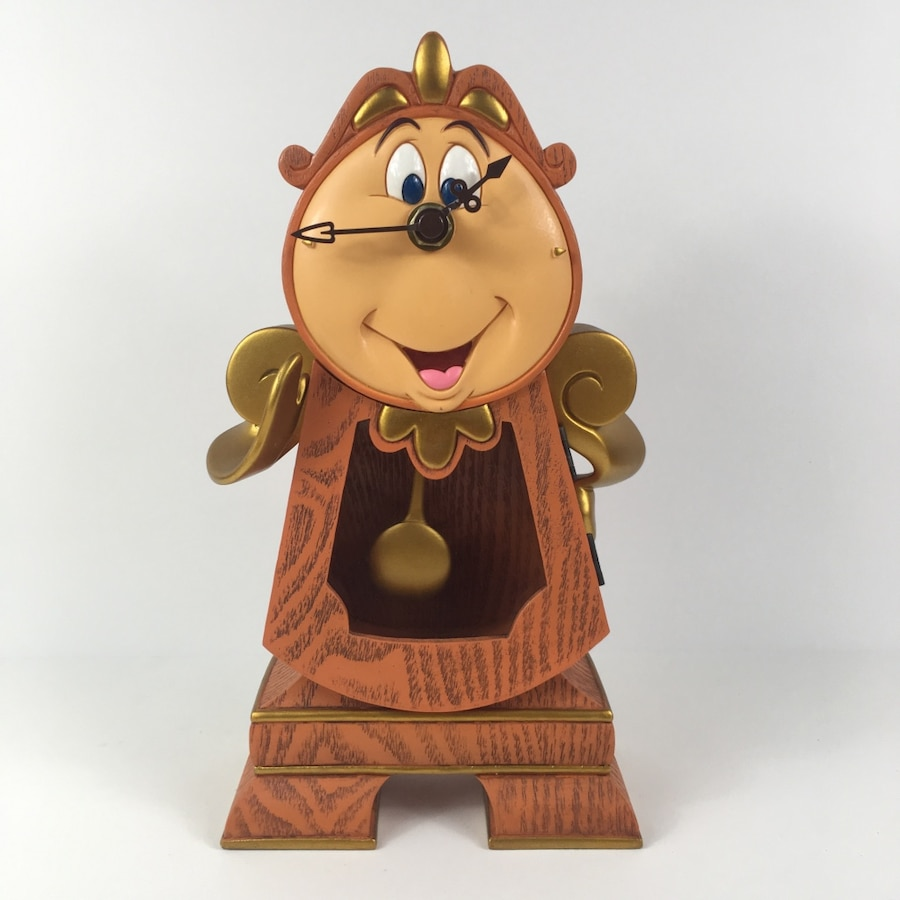 Photo Disney's Beauty and the Beast's Cogsworth functional clock
