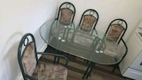 brown wooden dining table set 777 km